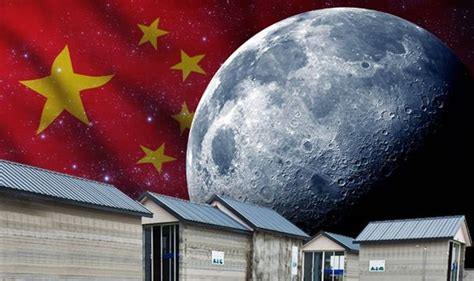 China reveal plans to 'COLONISE space' by building HOUSES