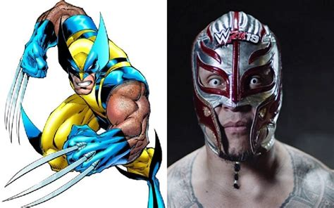 REY MYSTERIO Just Wrestled in a Comics-Accurate WOLVERINE