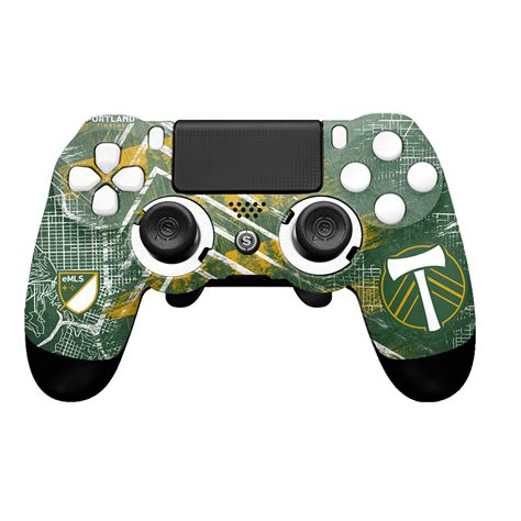 SCUF製カスタマイズコントローラー【SCUF INFINITY4PS PRO PORTLAND TIMBERS