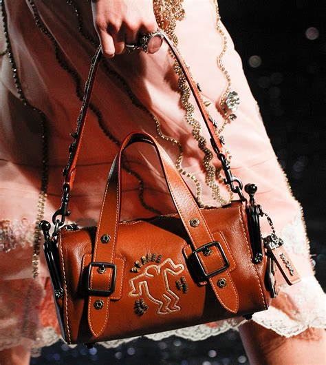 Coach's Spring 2018 Runway Bags Pay Tribute to Artist and