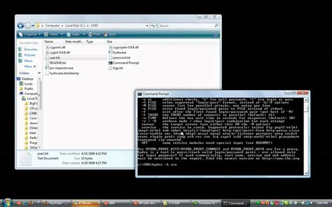 THC Hydra - Brute Force - Command Line Tool - YouTube