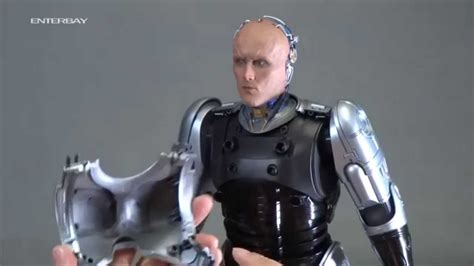 RoboCop 3 toy demonstration - ENTERBAY - YouTube