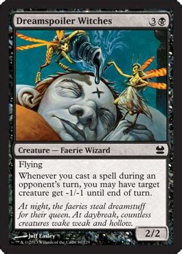 Dreamspoiler Witches from Modern Masters Spoiler