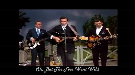 Johnny Cash - Ring Of Fire with LYRICS HD - YouTube