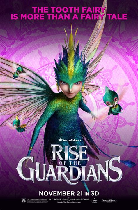 New RISE OF THE GUARDIANS Character Posters - FilmoFilia
