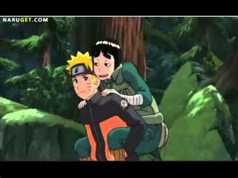 Hilarious Rock Lee moment (From the first Naruto Shippuden