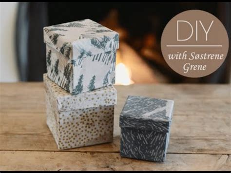 DIY: How to decorate boxes with glue and napkins by